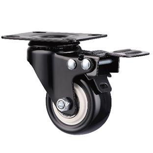 平板型活动双刹轮