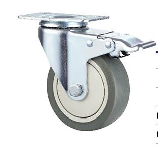 中型活动双刹单轴TPR轮