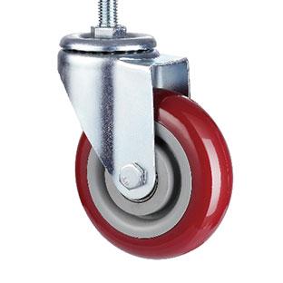 中型丝杆活动双轴PU轮