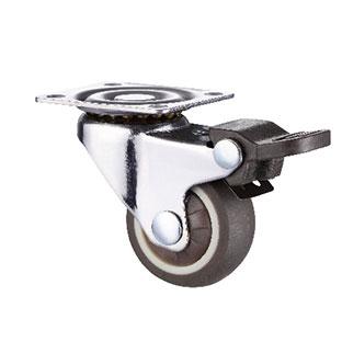 轻型活动双刹单轴TPR轮
