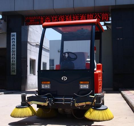 驾驶式电动扫地机