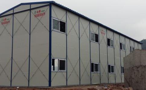 貴陽彩鋼K式雙層活動闆房