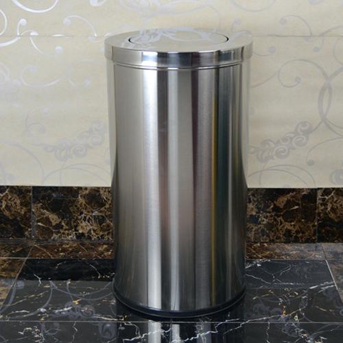 昆明商场不锈钢圆形垃圾桶