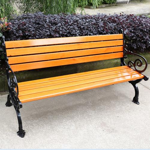 昆明木条靠背公园椅