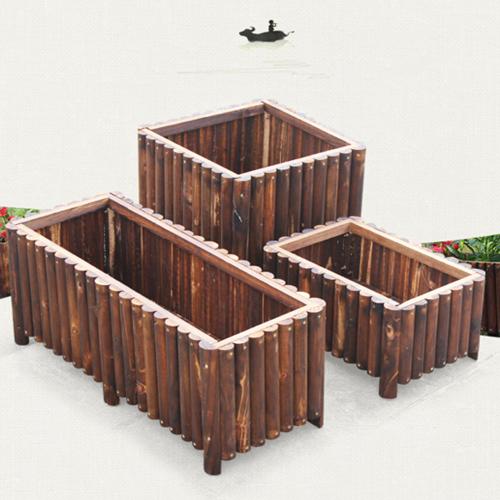 云南户外木条花箱