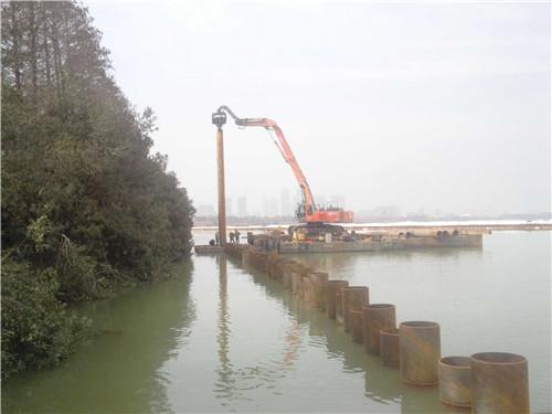 武汉钢管桩施工