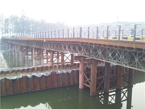 武汉钢栈桥施工