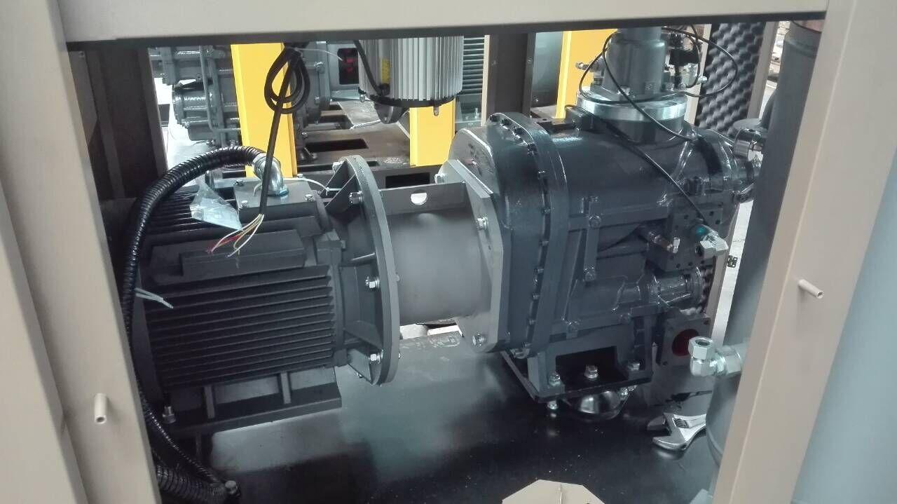 双级压缩螺杆空气压缩机