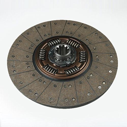 小六露簧三级减震离合器片