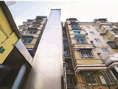 河北旧楼装电梯