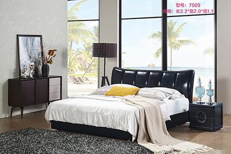 【图文】真皮软床的体验_搭配真皮软床的床品怎么选择