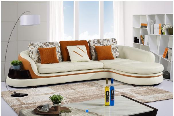 美式真皮沙发