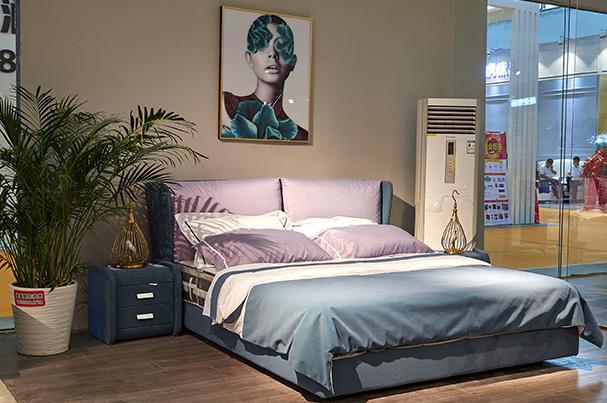 现代床款式