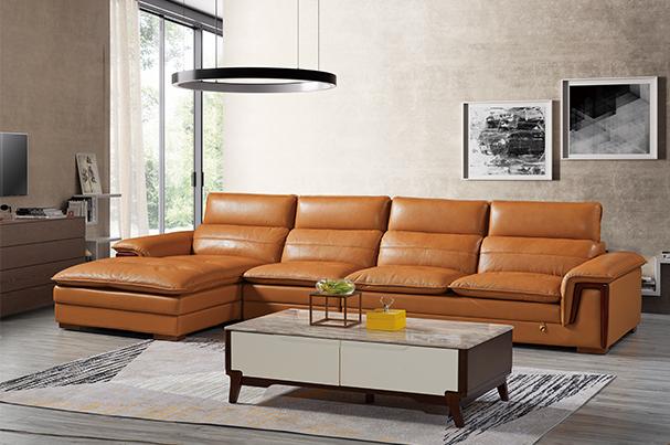 优质皮沙发
