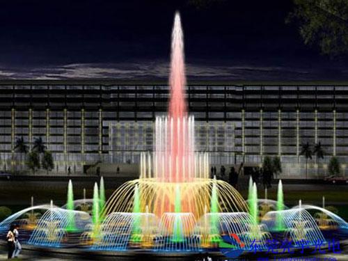 音乐喷泉激光秀