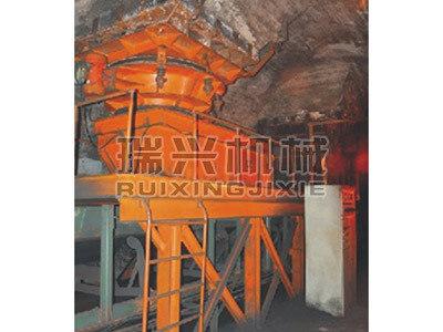 液壓定位給煤機