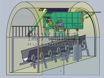 液壓破拱可變傾角振動給煤機