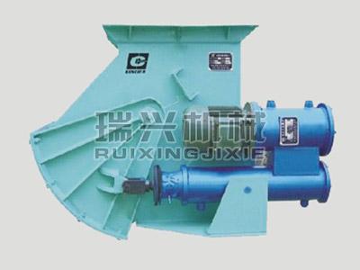 液動扇形閘門