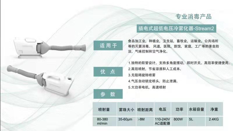 插电式超低电压冷雾化器