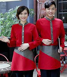 云南高级酒店服装