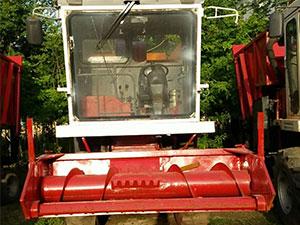自走式玉米青儲機