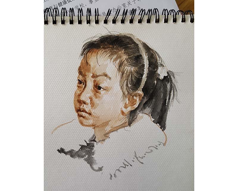 肖像素描培训