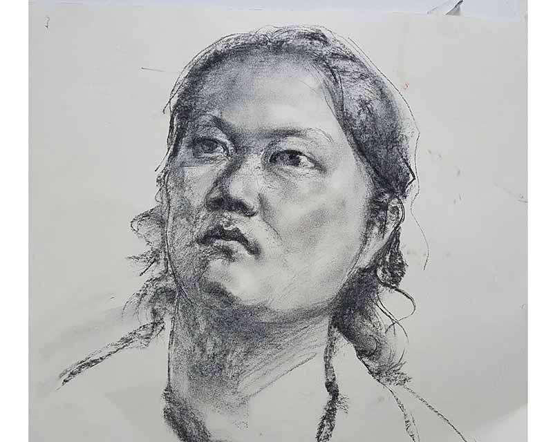 高考肖像素描培训