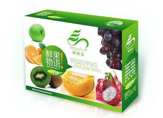 水果包装纸箱印刷