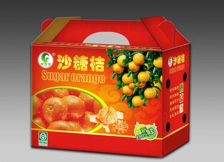 水果包装�U�箱印刷