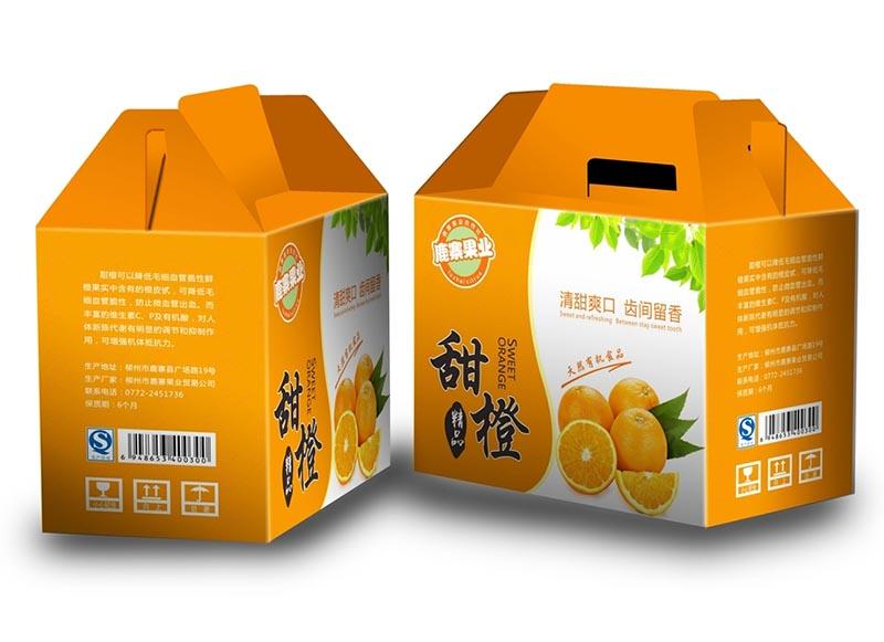 贵州水果包装�U�箱印刷