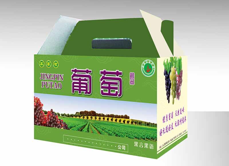 水果箱印刷
