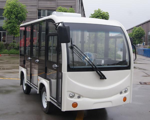 8座双开门带空调观光车