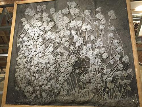 贵州关岭海百合化石
