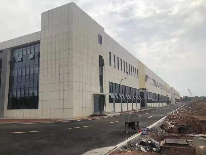 完工钢结构厂房