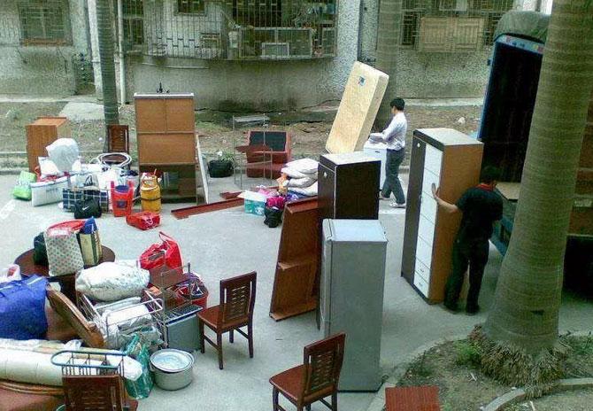 重慶居民搬家