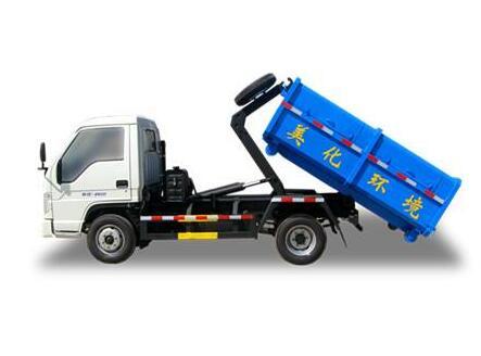 钩臂垃圾车