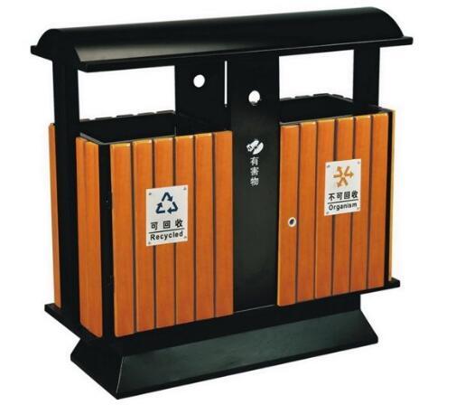 贵州钢木垃圾桶