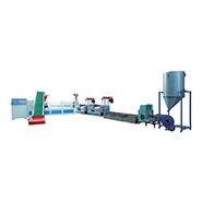 三阶水料排气型挤出造粒机组