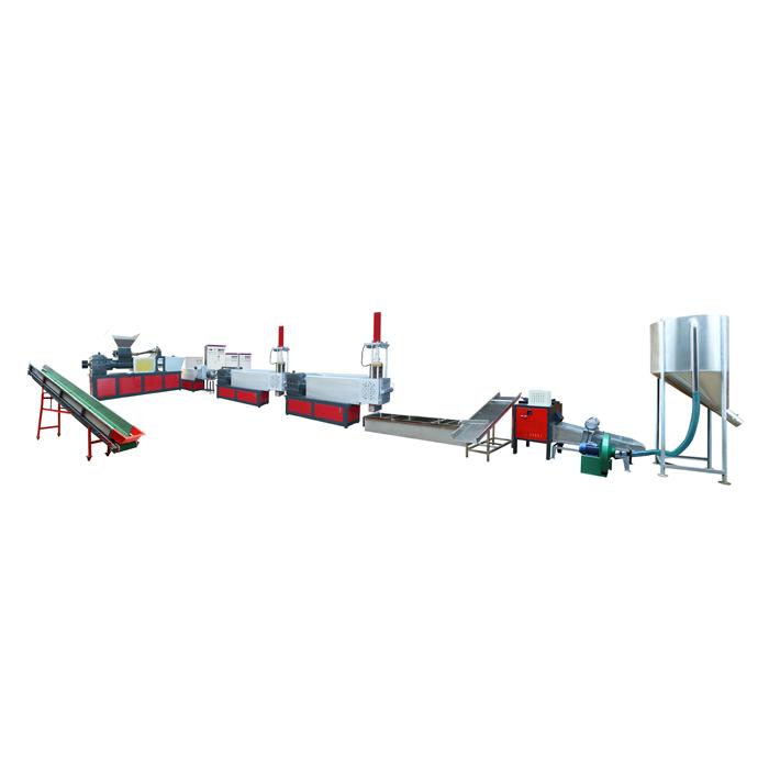 三階水料排氣型擠出造粒機組