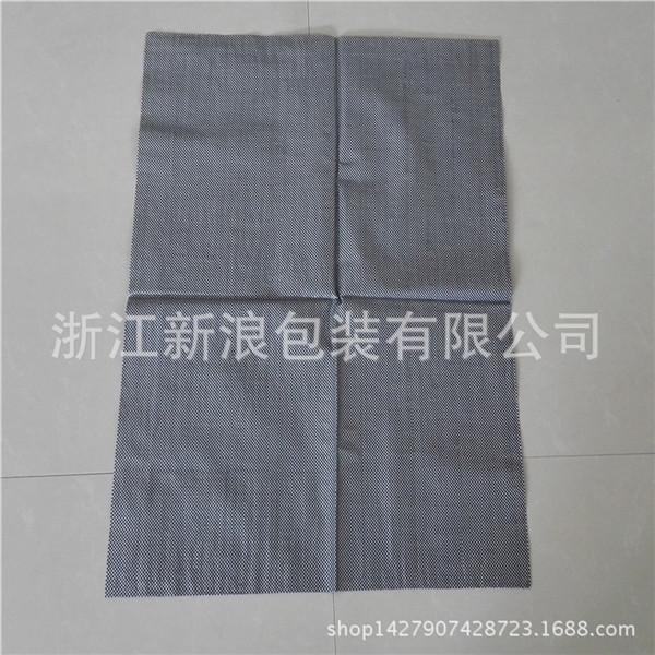 黑色花纹包装编织袋