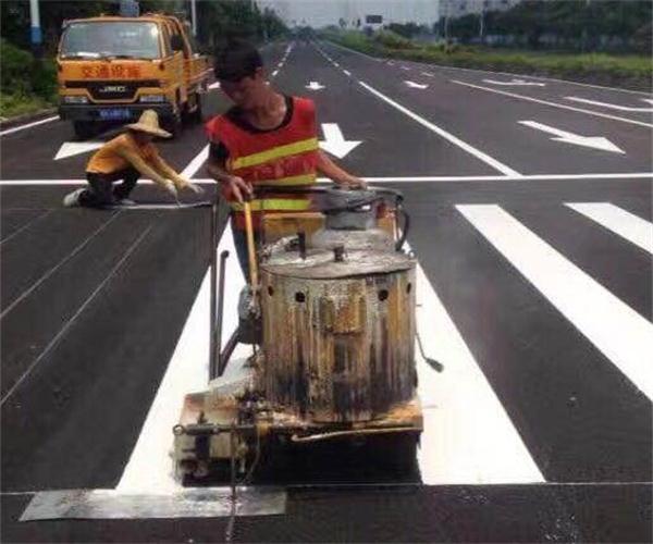 武汉路面划线