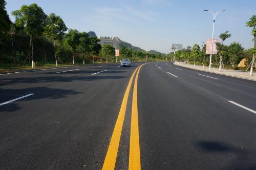 武汉道路划线刷黑