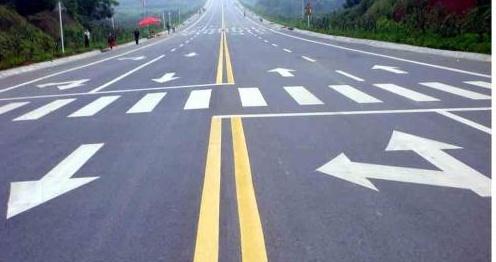武汉马路划线工程