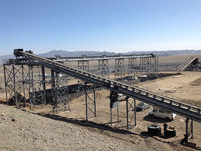 露天煤矿筛分破碎系统