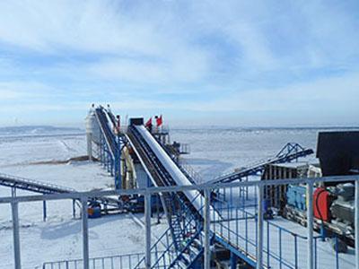 新疆煤矿筛分破碎系统