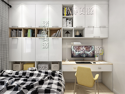 书桌书柜组合