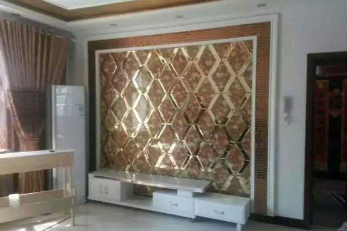 玻璃背景墙价格