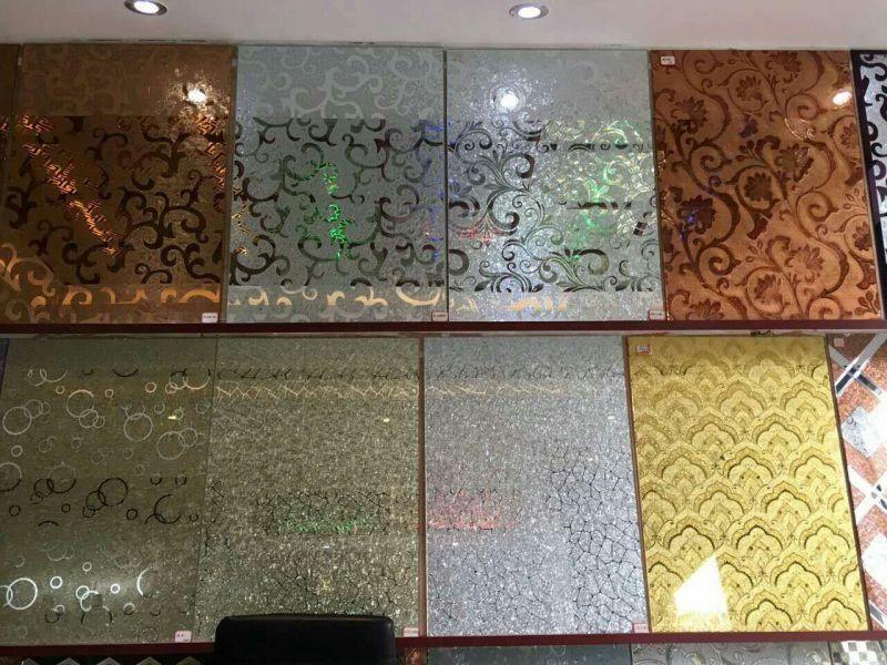 彩印玻璃背景墙