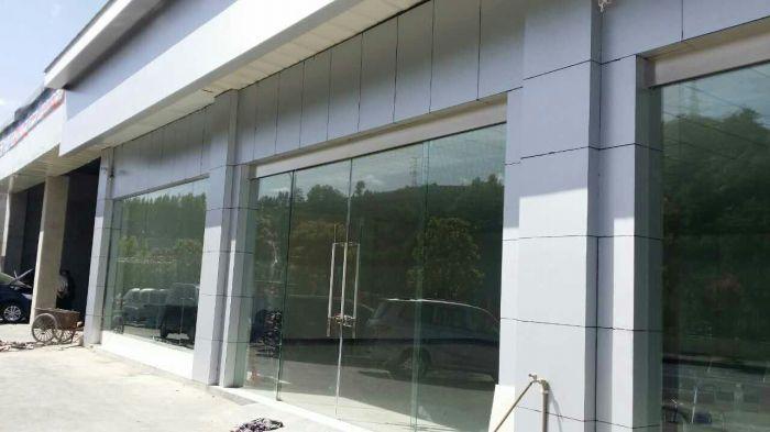 酒店门店玻璃