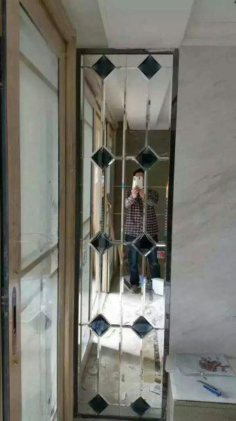 背景墙拼镜